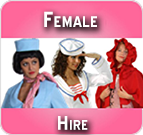 Hire female costumes online