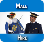 Hire male costumes online