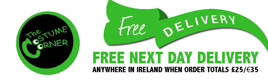 Free Delivery on orders over £25 or €35
