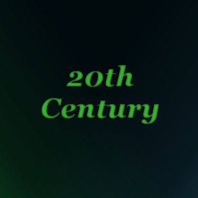 20th Century | The Costume Corner