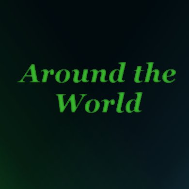 Around The World | The Costume Corner