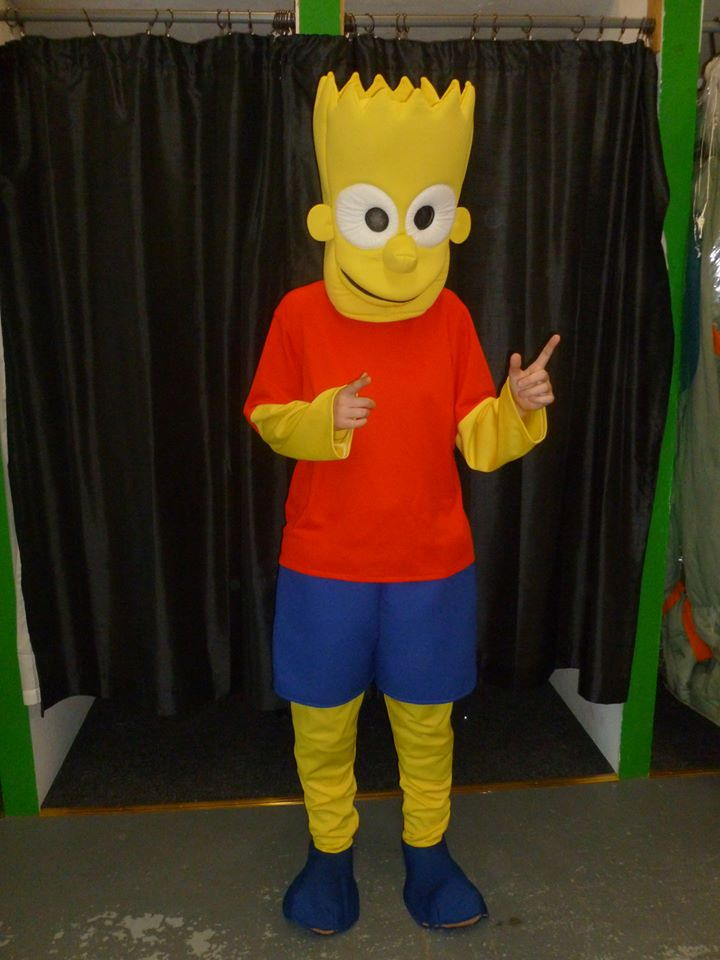 Click to Enlarge & Products: Bart Simpson Mascot | The Costume Corner