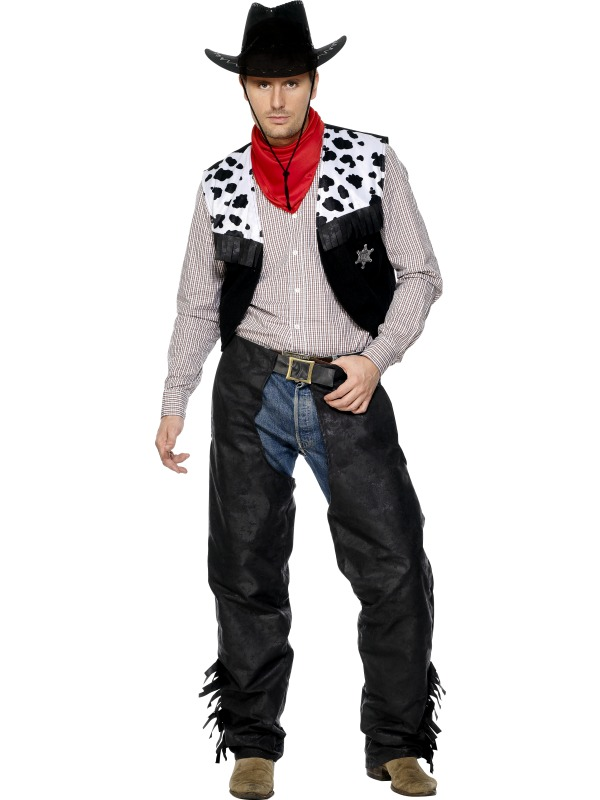 Cowboy Leather Costume ...  sc 1 st  The Costume Corner & Products: Cowboy | The Costume Corner Fancy Dress Super Store