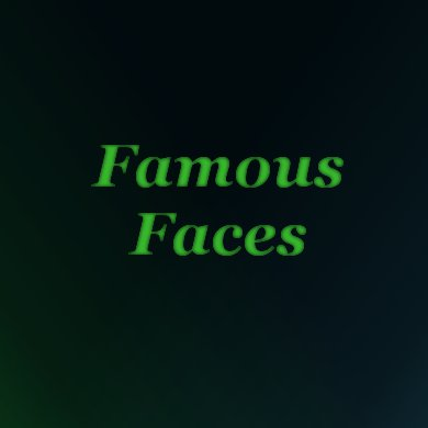 Famous Faces | The Costume Corner