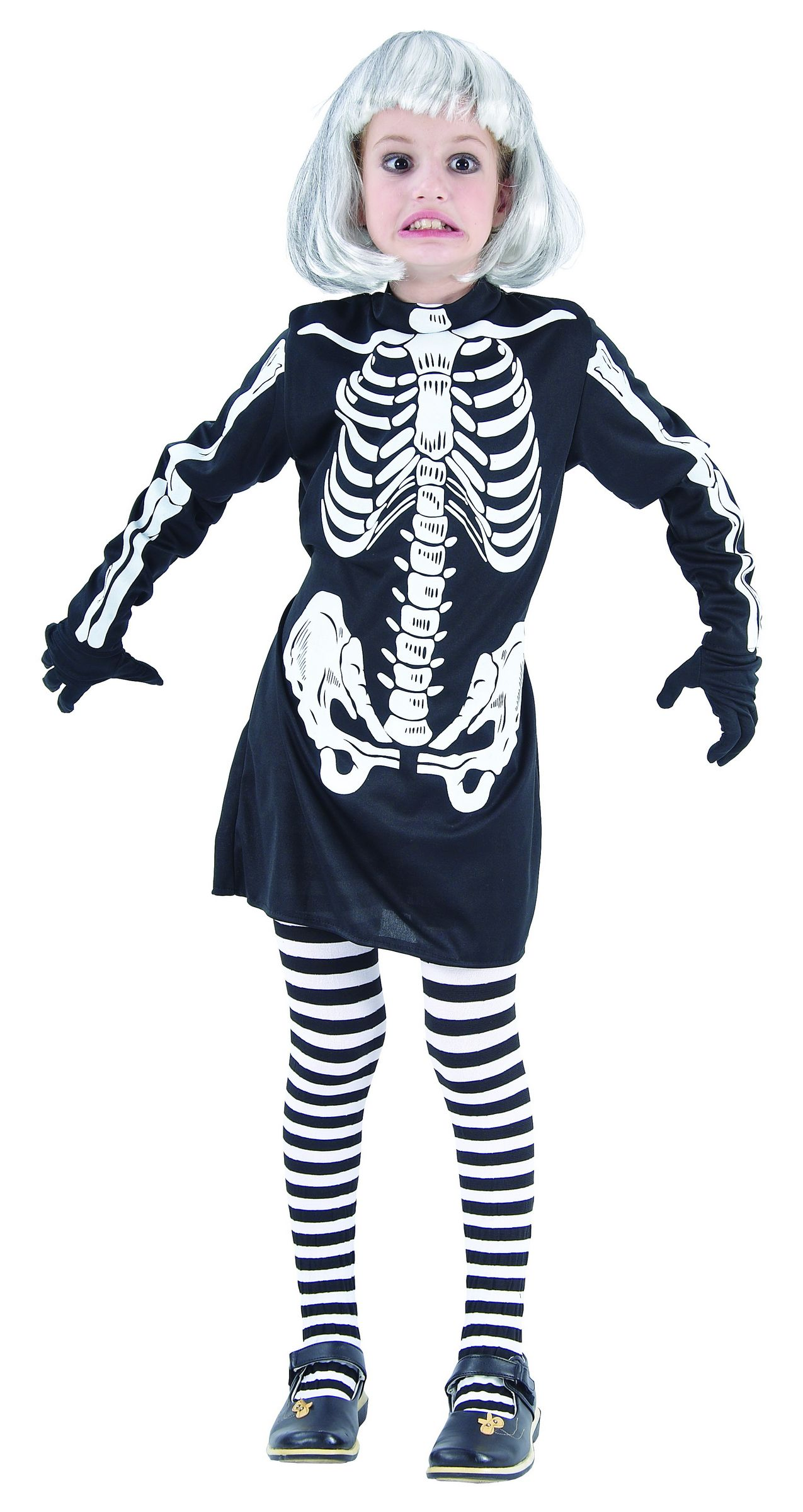 Click to Enlarge  sc 1 st  The Costume Corner & Products: Skeleton Girl | The Costume Corner Fancy Dress Super Store