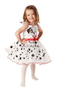 101 dalmations For Sale - For all puppy-sized princesses who love giving their Dalmatian spots a twirl, this ballerina outfit with its lovely layered dress will win you 101 fans and more. But who's that... | The Costume Corner Fancy Dress Super Store