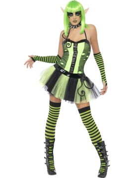Wild Ivy Elf For Sale - Tainted Garden Wild Ivy Elf Costume, Tutu Dress with Attached Belt | The Costume Corner Fancy Dress Super Store