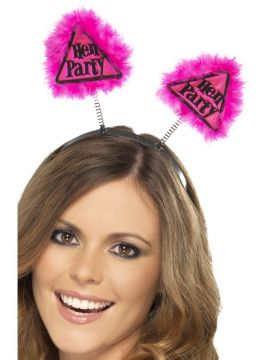 Hen Party Warning Boppers For Sale - Hen Party Warning Boppers, Pink, on Display Card | The Costume Corner Fancy Dress Super Store