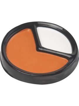 Candy Creator Make Up Kit For Sale - Candy Creator Make Up Kit, Orange and White with Applicator Sponge. | The Costume Corner Fancy Dress Super Store