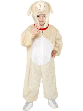 Lamb Costume, Medium For Sale - Lamb Costume, Medium, includes Jumpsuit with Hood, in Display Bag | The Costume Corner Fancy Dress Super Store