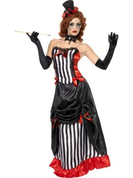 Madame Vamp For Sale - Madame Vamp, with Corset, Skirt and Hat | The Costume Corner Fancy Dress Super Store