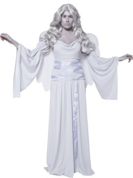 Cemetery Angel For Sale - Cemetery Angel Costume, Cement, with Dress, Wings and Sleeves. | The Costume Corner Fancy Dress Super Store
