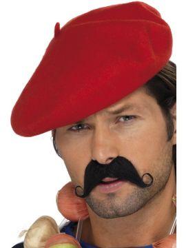 Beret For Sale - Red beret. | The Costume Corner Fancy Dress Super Store