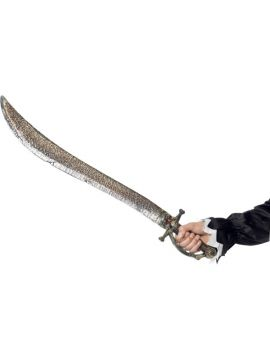 Pirate Sword - Gold For Sale - Pirate Sword, Gold, with Skull Handle, 83cm | The Costume Corner Fancy Dress Super Store