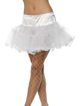 Tulle Petticoat - White For Sale - Tulle Petticoat, White. | The Costume Corner Fancy Dress Super Store