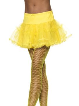 Tulle Petticoat - Neon Yellow For Sale - Tulle Petticoat, Neon Yellow. | The Costume Corner Fancy Dress Super Store