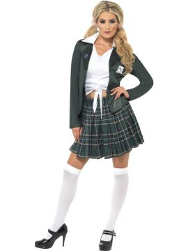 Preppy Schoolgirl For Sale - Preppy Schoolgirl Costume, with Shirt, Skirt and Blazer | The Costume Corner Fancy Dress Super Store