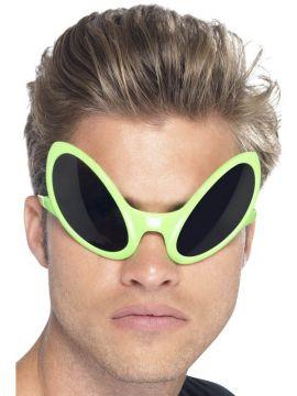 Alien Eye Shades For Sale - Alien Eye Shades, Green | The Costume Corner Fancy Dress Super Store