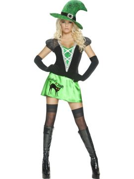 Wicked B#tch For Sale - Wicked Bitch Costume, with Dress, Hat and Gloves | The Costume Corner Fancy Dress Super Store