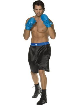Down for the Count For Sale - Fever Down for the Count Costume, Robe, Shorts, Belt and Gloves | The Costume Corner Fancy Dress Super Store