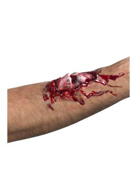 Broken Bone Scar For Sale - Broken Bone Scar, Latex | The Costume Corner Fancy Dress Super Store