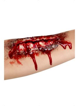 Open Wound Scar For Sale - Open Wound Scar, Flesh, Latex, Adhesive | The Costume Corner Fancy Dress Super Store
