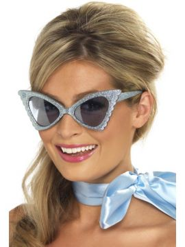 Butterfly Specs For Sale - Retro Butterfly Specs, Blue | The Costume Corner Fancy Dress Super Store
