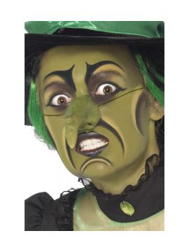 Witch Make Up Kit For Sale - Witch Make Up Kit, includes Facepaint, Nose, Crayons and Sponge, on Display Card | The Costume Corner Fancy Dress Super Store
