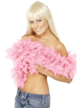 Deluxe Boa For Sale - Deluxe Boa, Pink, Feather, 180cm, 80g | The Costume Corner Fancy Dress Super Store