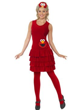 Elmo Sesame Street For Sale - Sesame Street Elmo Costume, with Dress and Headband | The Costume Corner Fancy Dress Super Store