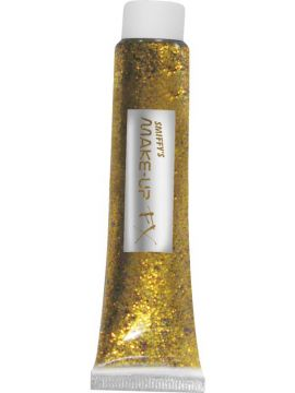 Glitter Gel - Gold For Sale - Glitter Gel, Gold, 20ml Tube | The Costume Corner Fancy Dress Super Store