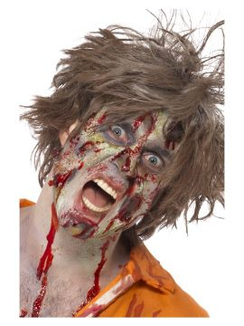 Zombie Latex Kit For Sale - Zombie Latex Kit, Face Paint, Gel Blood, Liquid Latex, Horror Flesh & Applicators | The Costume Corner Fancy Dress Super Store