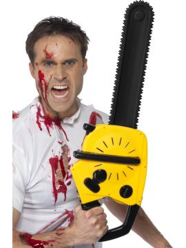 Chainsaw For Sale - Chainsaw, with Sound, includes Batteries, 53cm, with Tag Card | The Costume Corner Fancy Dress Super Store