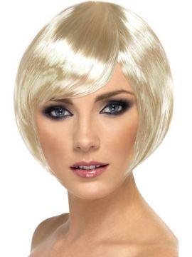 Babe Wig - Blonde For Sale - Babe Wig, Blonde, Short Bob with Fringe | The Costume Corner Fancy Dress Super Store