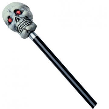 48 Inch Cane For Sale - 48in. Tall Bone-Color Cane With Jewel Eyes | The Costume Corner Fancy Dress Super Store