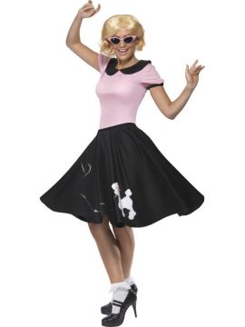 50's Lady For Sale - Fifties Lady Costume, With Top and Skirt | The Costume Corner Fancy Dress Super Store