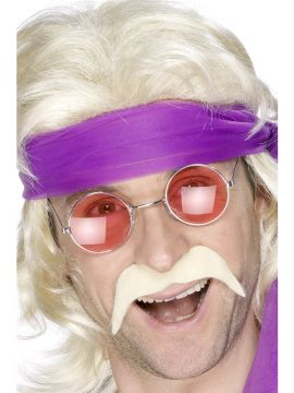 70s Tash For Sale - 70s Tash in Blonde | The Costume Corner Fancy Dress Super Store