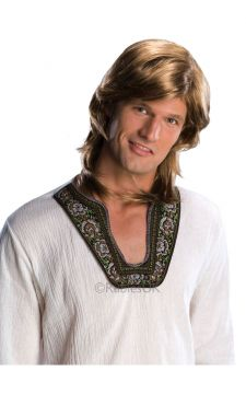 70s Guy Wig - Blonde For Sale - 70's Guy Blonde Wig | The Costume Corner Fancy Dress Super Store