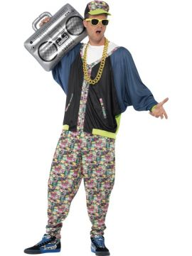 80's Hip Hop For Sale - Patterned jacket, trousers & hat | The Costume Corner Fancy Dress Super Store