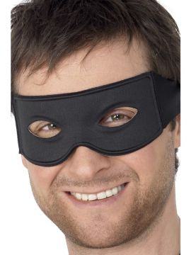 Bandit Eyemask For Sale - Bandit Eyemask and Tie Scarf, Black, with Label | The Costume Corner Fancy Dress Super Store