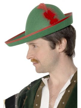 Robin Hood Hat For Sale - Robin Hood Hat with Feather. | The Costume Corner Fancy Dress Super Store
