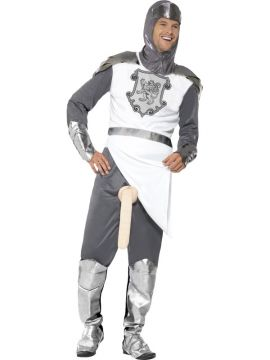 A Knight to Remember For Sale - Includes Tunic, Trousers and Hood | The Costume Corner Fancy Dress Super Store
