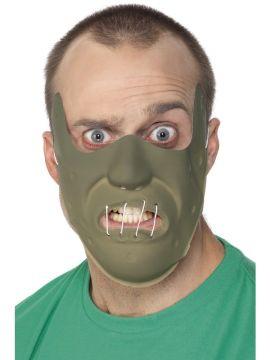 Restraint Horror Mask For Sale - Adult PVC Restraint Horror Mask with Elastic | The Costume Corner Fancy Dress Super Store