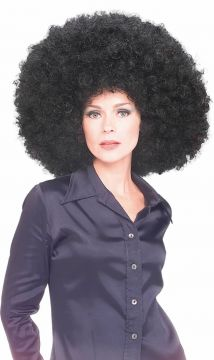 Afro Wig - Black For Sale - One black afro wig. | The Costume Corner Fancy Dress Super Store