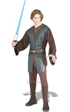 Anakin Skywalker For Sale - Anakin Skywalker? Is that you? Instantly tap into the Force as you transform into the legendary Jedi Knight in this detailed costume - but beware the Dark Side! Tunic, tro... | The Costume Corner Fancy Dress Super Store