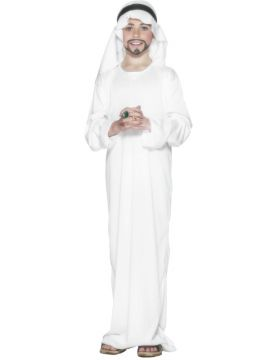 Arabian For Sale - Arabian Costume. Includes White Robe and Headpiece. | The Costume Corner Fancy Dress Super Store