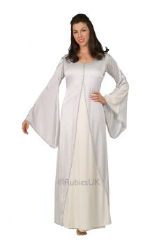 Arwen For Sale - Age is not an issue when you're the beautiful elven Arwen. According to Tolkien, she was about 2,700 years old when she met Aragorn, 2,680 years her junior. You'll look every b...   The Costume Corner Fancy Dress Super Store