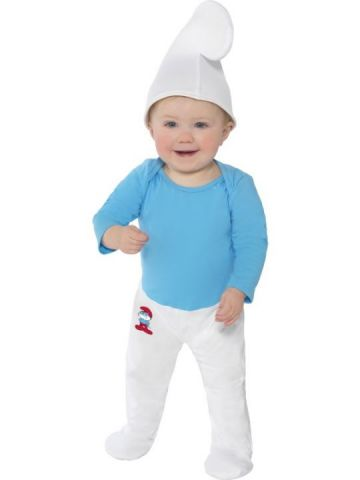 Baby Smurf For Sale - Baby boy smurf costume, includes hat. | The Costume Corner Fancy Dress Super Store
