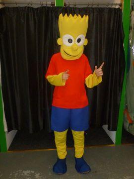 Bart Simpson Mascot For Sale -    The Costume Corner