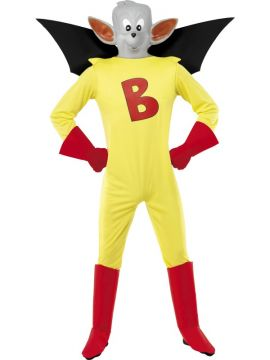 Batfink For Sale - Batfink Costume, Yellow, With Jumpsuit With Wings, Gloves and Mask | The Costume Corner Fancy Dress Super Store